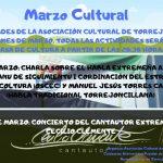 Actividades de la Asociación Cultural para el mes de Marzo