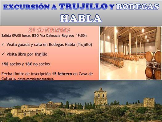 Aún puedes acompañar a la Asociación Cultural a Trujillo