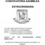 Asamblea Extraordinaria de la Asociación Cultural de Torrejoncillo