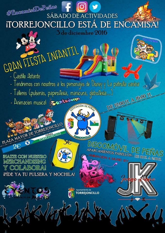 Sábado de actividades organizadas por la Asociación de Peñas Taurinas de Torrejoncillo