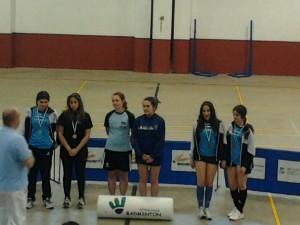 Andrea, Olga, Sofía y Candela subieron al podio - DINAMIZACIÓN DEPORTIVA
