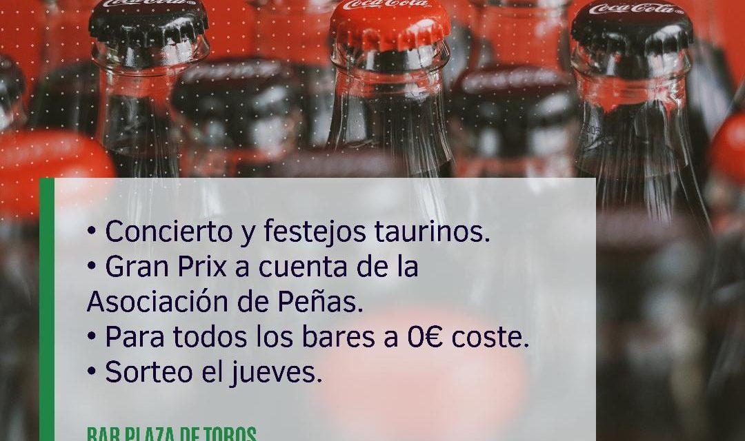 Gestión gratuita Bar Plaza de Toros