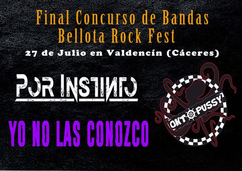 Ya tenemos finalistas para el Bellota Rock Fest