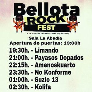 Bellota Rock Festival