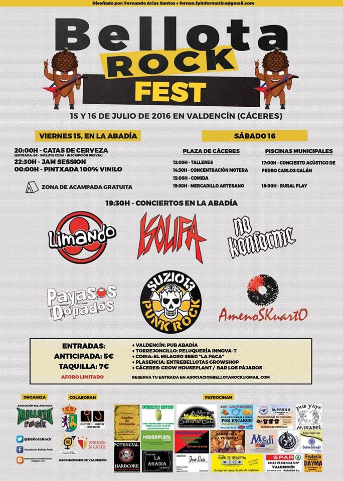 Bellota Rock Fest Valdencín