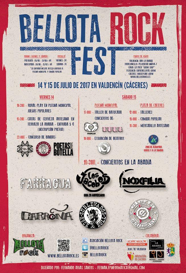 Bellota Rock ultima todos los preparativos para el Festival Rock