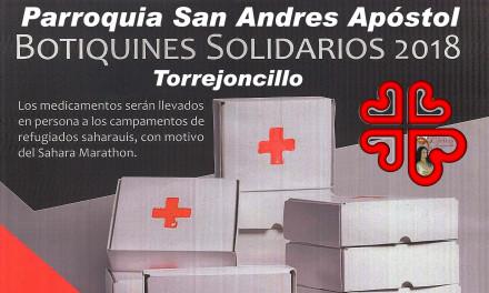 Botiquines solidarios 2018