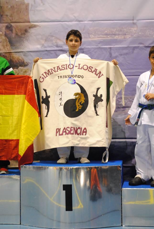 Brathyan Neila, oro en el internacional de Taekwondo de Peniche