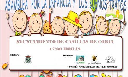 Asamblea por la infancia y los buenos tratos en Casillas de Coria
