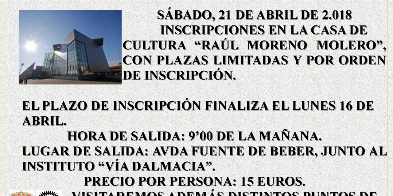 """Excursión visita a la Biblioteca Pública del Estado """"Jesús Delgado Valhondo"""" de Mérida (Badajoz), con motivo de la celebración del  Día Mundial del libro"""