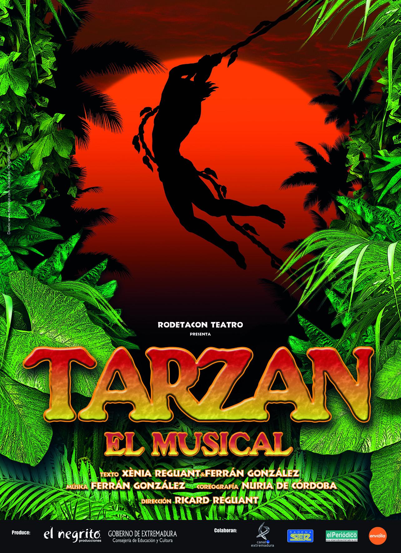 Tarzán, el musical en Coria
