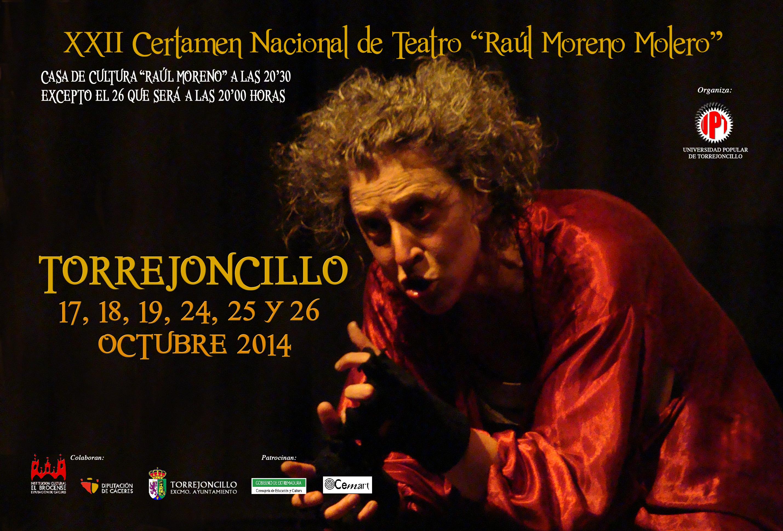 XXII Certamen de teatro de Torrejoncillo