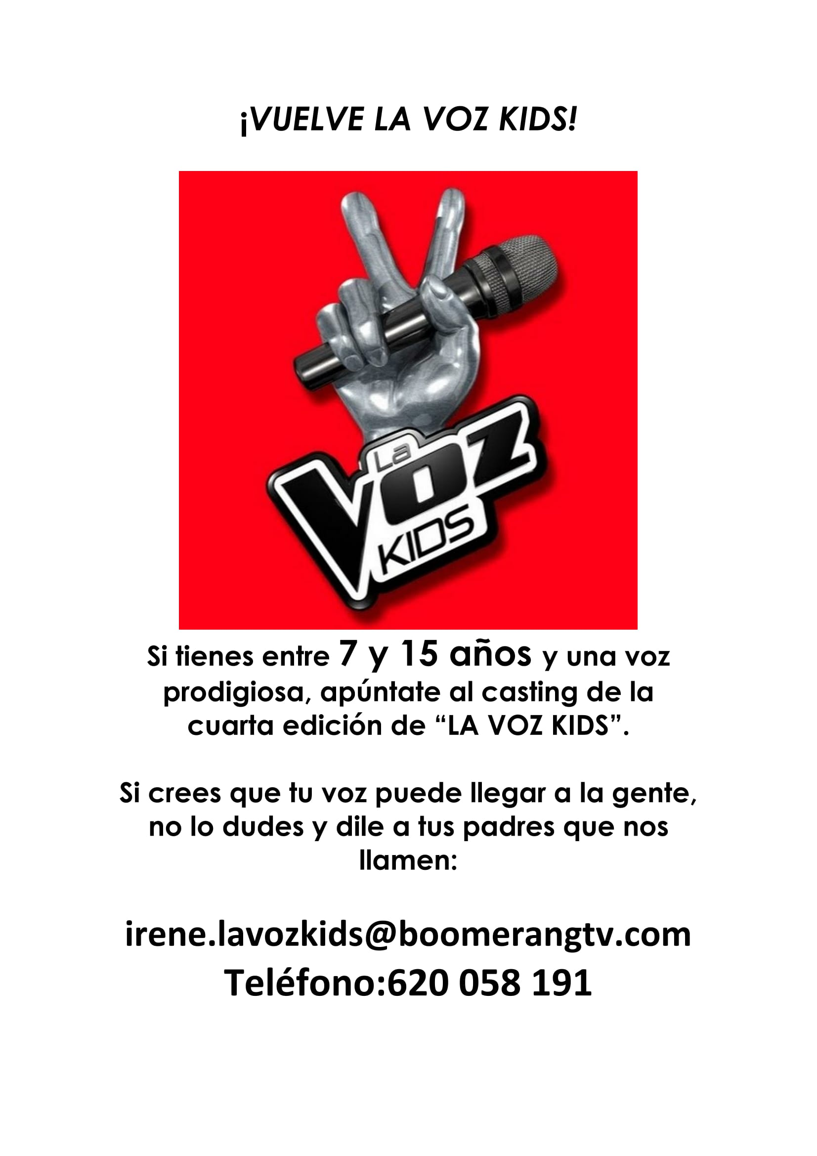 ¡Vuelve La Voz Kids!
