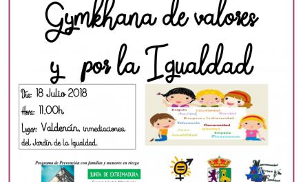 Gymkana de valores y por la Igualdad en Valdencín