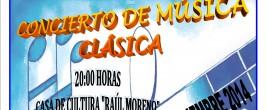 CONCIERTO MUSICA CLÁSICA 2014