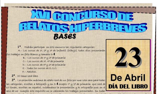 Bases Concurso Relatos Hiperbreves en Torrejoncillo y Valdencín