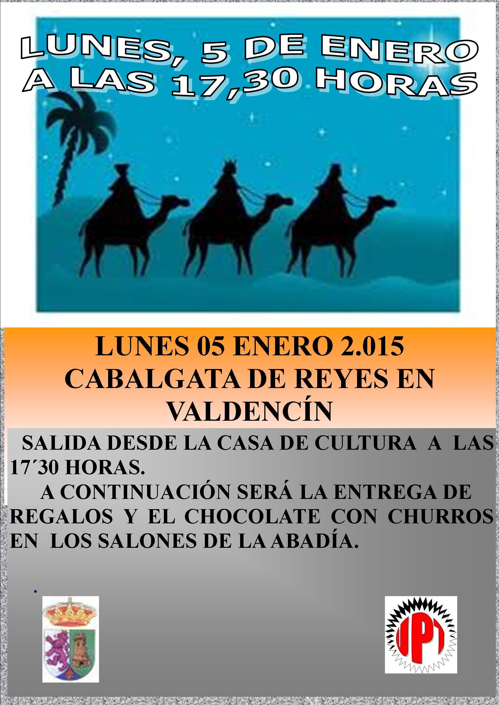 Cabalgata de Reyes de Valdencín
