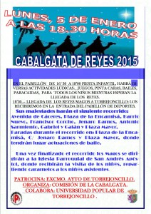 Cabalgata reyes 2015 TORREJONCILLO