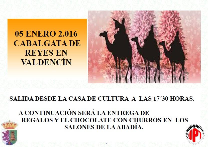 La llegada de los Reyes Magos a Valdencín está prevista a las 17:30 h.