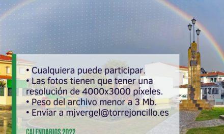 TUS FOTOS ILUSTRARÁN EL CALENDARIO 2022 DE TORREJONCILLO Y VALDENCÍN