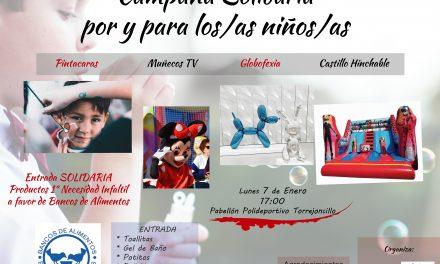 Campaña solidaria en favor de la infancia de PSOE Torrejoncillo
