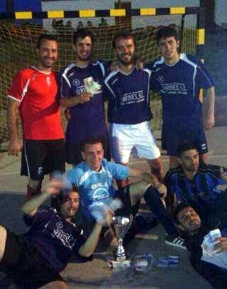 Comienza el idilio de los torrejoncillanos con los torneos 24 horas de fútbol sala