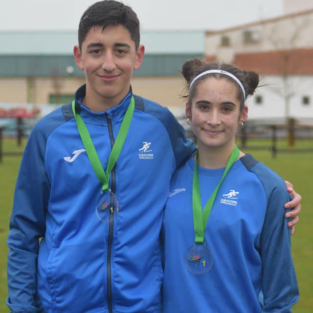 Dos Torrejoncillanos Campeones de Extremadura