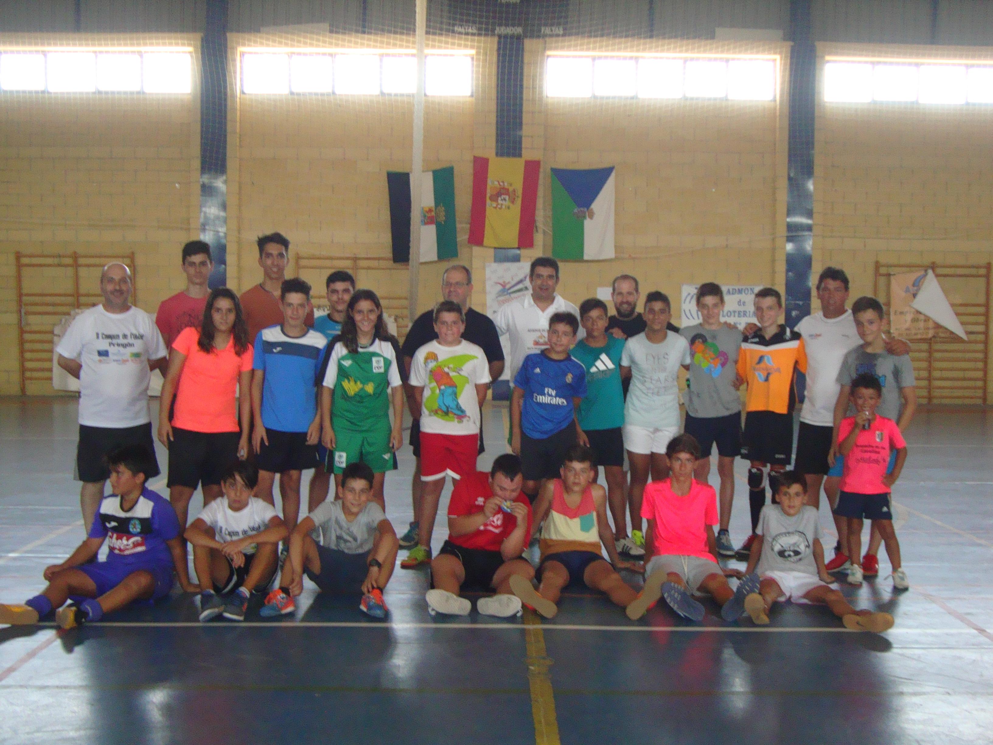 Celebrado el III Campus de Fútbol Pringón