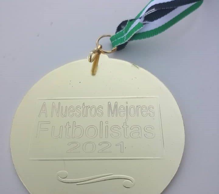 Thiago, Leo y Mateo premio a los mejores futbolistas de Cañaveral