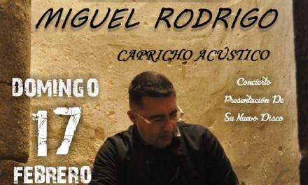 Miguel Rodrigo en concierto