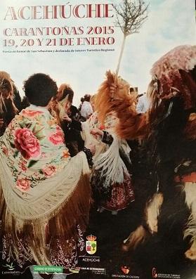 Cinco matrimonios de la localidad, entre ellos un torrejoncillano, serán los mayordomos de las Carantoñas 2015
