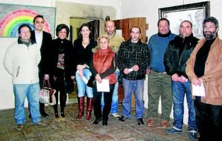 """Varios torrejoncillanos presentes en la IV Exposición Bienal """"Rincón del Artista"""" del Museo Cárcel Real de Coria"""