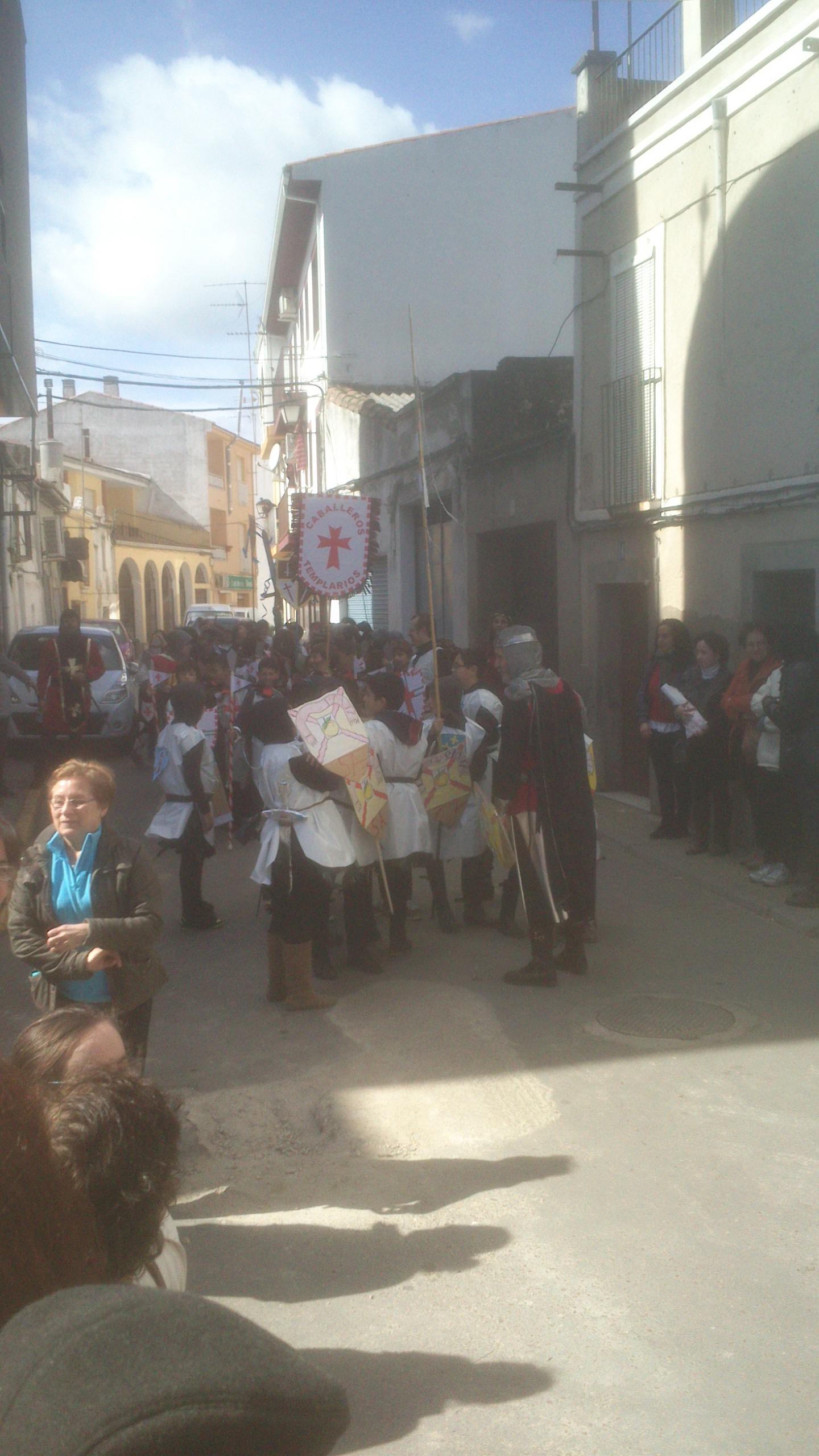 Los Caballeros de Pavía tomaron el carnaval