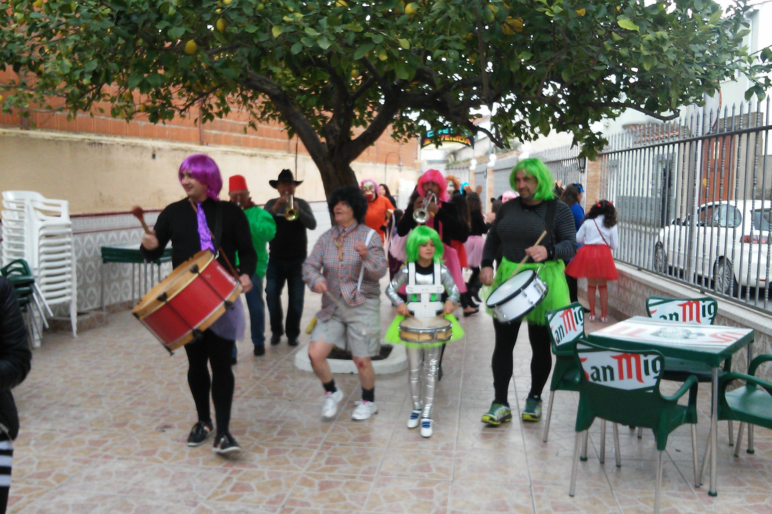 El Carnaval en Torrejoncillo y Valdencín