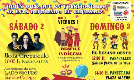 ¿Quién dice que en Torrejoncillo se está perdiendo el Carnaval?