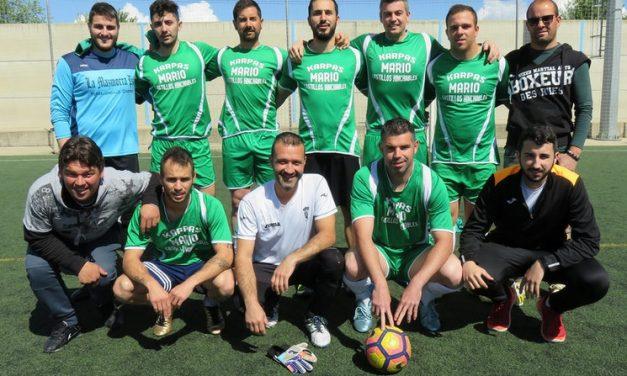 Carpas Mario campeón del XXVI Campeonato de Liga Local de Fútbol-7 Aficionados de Coria
