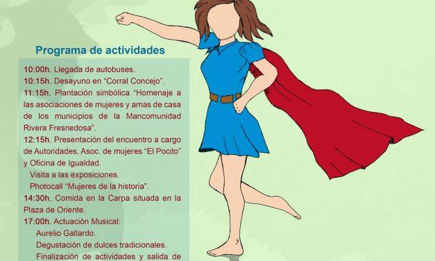 XVIII Encuentro de Mujeres Mancomunado en Casas de Don Gómez