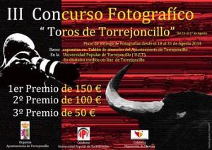 Cartel Concurso Fotos toros 2014