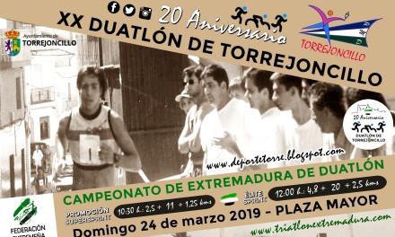 El Duatlón de Torrejoncillo cumple 20 años el próximo 24 de Marzo