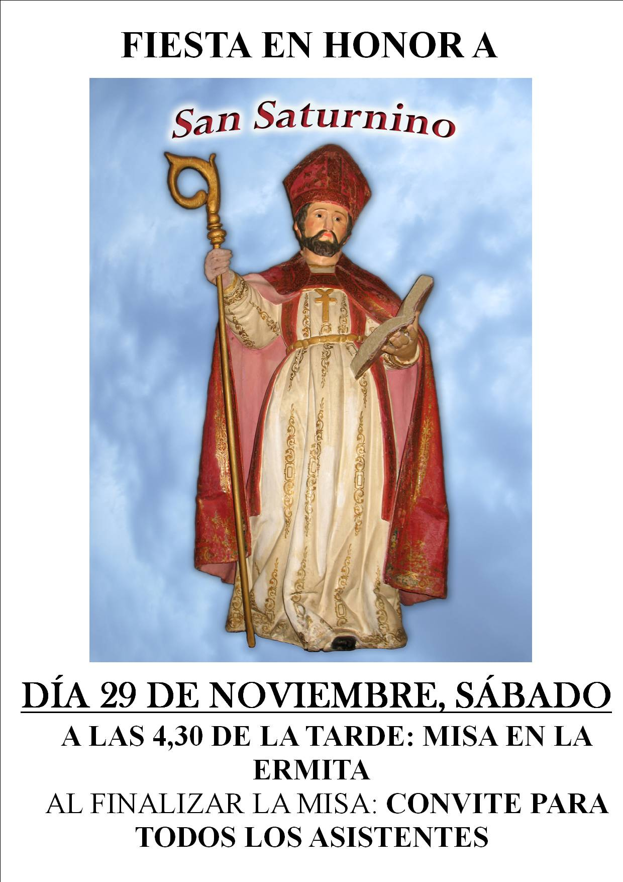 Festividad de San Saturnino