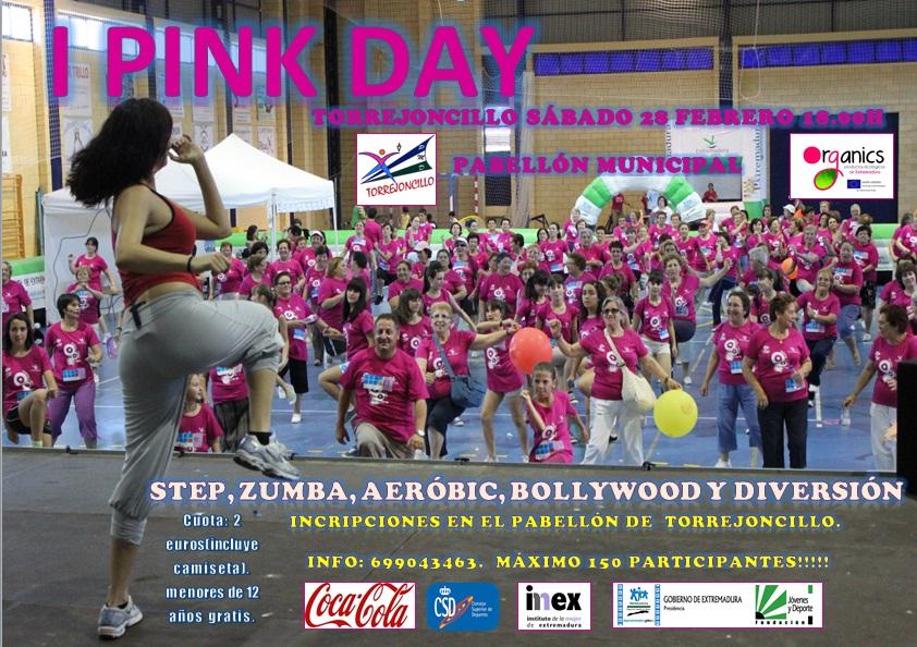 I Pink Day en Torrejoncillo el próximo Sábado 28F