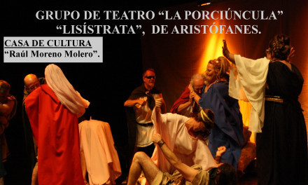 Nuevo montaje de «La Porciúncula»: Lisístrata de Aristófanes