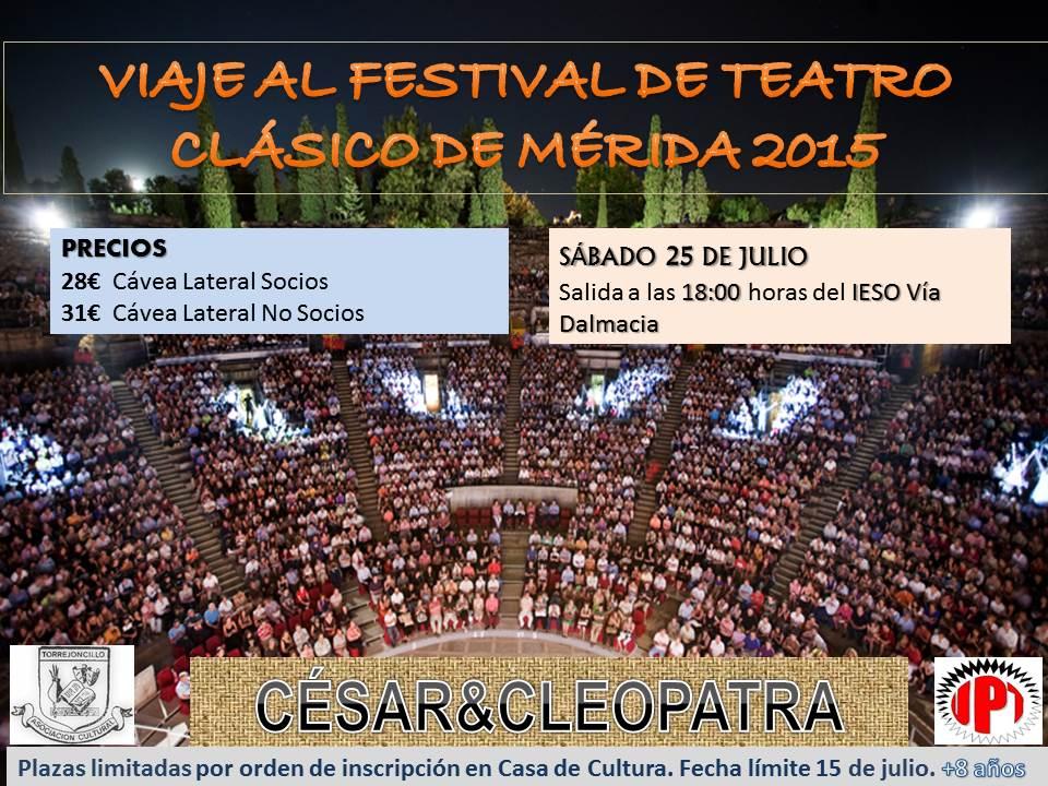 Viaje al Festival de Teatro Clásico de Mérida