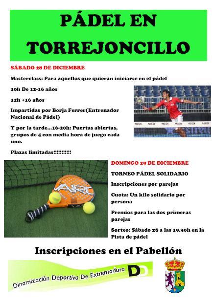 Padel en Torrejoncillo