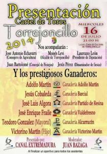 Cartel Toros 2014