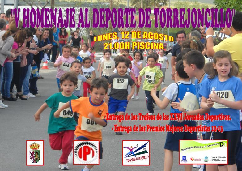 Hoy lunes de fiestas, Gala del Deporte y el Grupo de Baile de Torrejoncillo