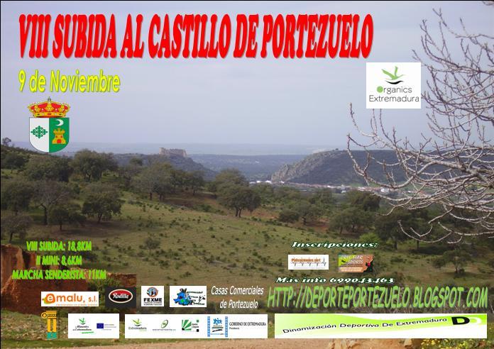 Deporte en familia con la VIII Subida al Castillo de Portezuelo