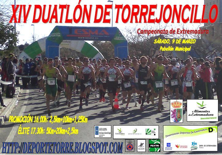 Torrejoncillo se prepara para acoger a las grandes figuras del triatlón extremeño