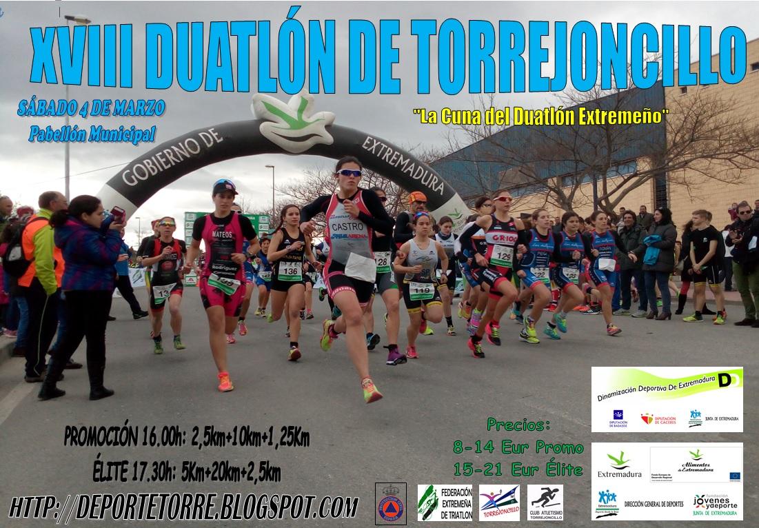 XVIII Duatlón de Torrejoncillo