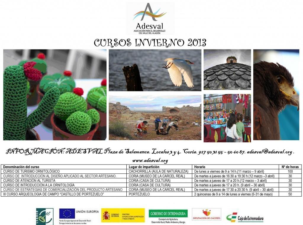 Cartel de cursos ADESVAL. Invierno - Primavera 2013-page-001